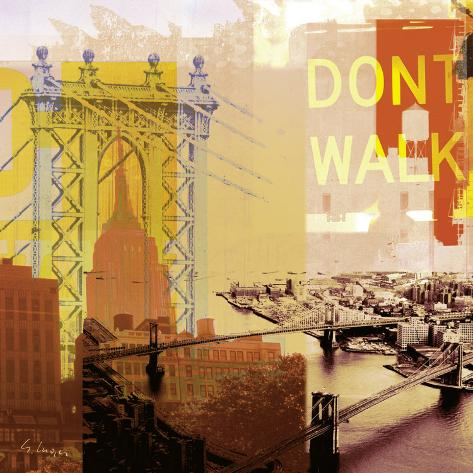 New York I Reproduction d'art