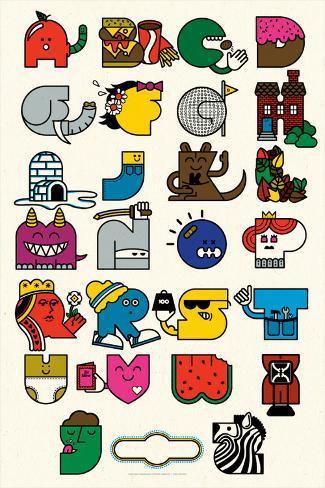 Alphabet Sérigraphie