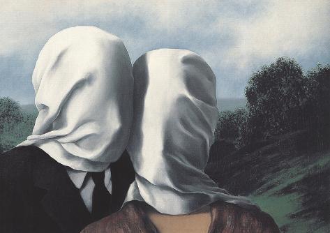 Les Amants (Lovers) Reproduction d'art
