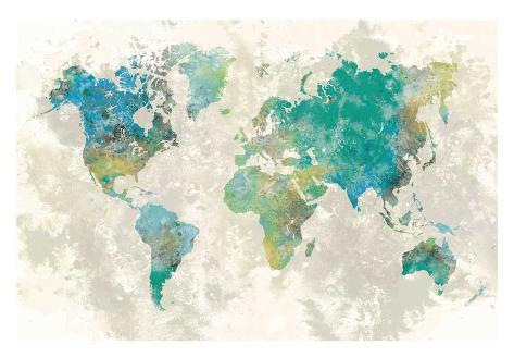 No Borders Reproduction d'art