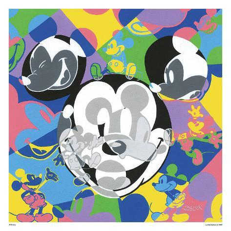 Multi-Mickey Reproduction pour collectionneurs