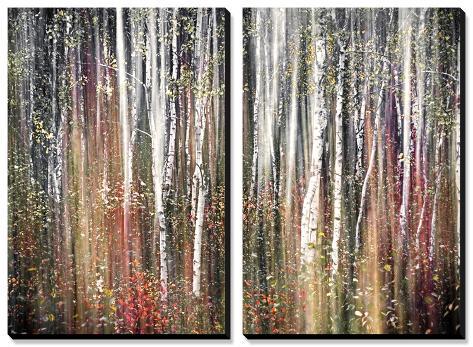 Pink Autumn Tableau multi toiles