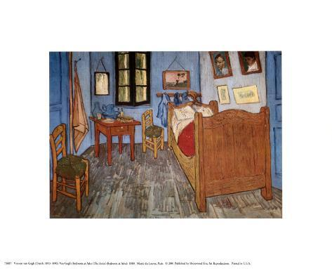 Reproduction d 39 art 39 la chambre de van gogh arles 39 par vincent van gogh - Chambre a arles van gogh ...