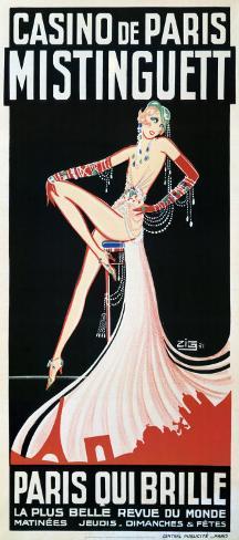 Casino de Paris Reproduction d'art