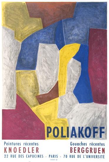 Peintures Recentes-Serge Poliakoff-Collectable Print