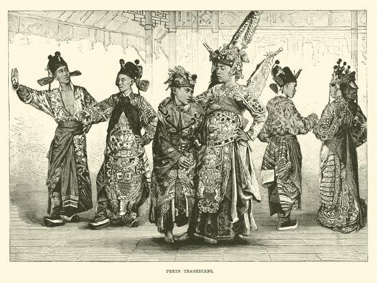 Pekin Tragedians--Giclee Print