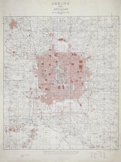 Peking and Environs--Giclee Print