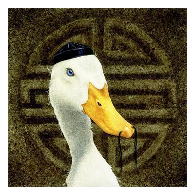 Peking Duck-Will Bullas-Premium Giclee Print
