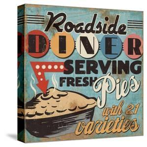 Diners and Drive Ins II by Pela Design