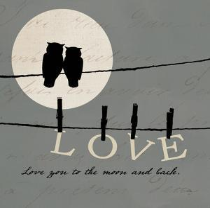 Moon Lovers I by Pela Design