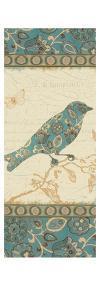 Natures Pattern I in Blue by Pela Design
