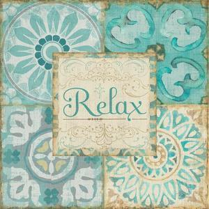 Ocean Tales Tile VI by Pela Design