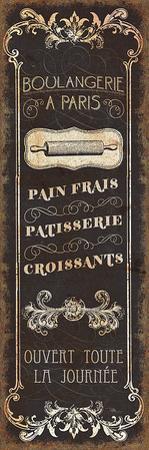 Parisian Signs Panel I