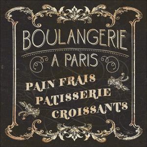 Parisian Signs Square I by Pela Design