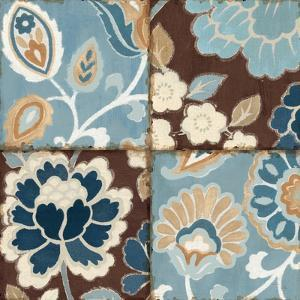 Patchwork Motif Blue I by Pela Design