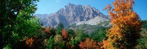 Pelens Needle in Autumn, French Riviera, Provence-Alpes-Cote D'Azur, France