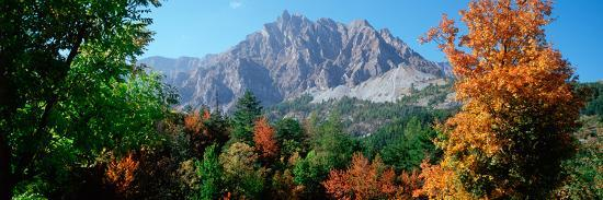 Pelens Needle in Autumn, French Riviera, Provence-Alpes-Cote D'Azur, France--Photographic Print