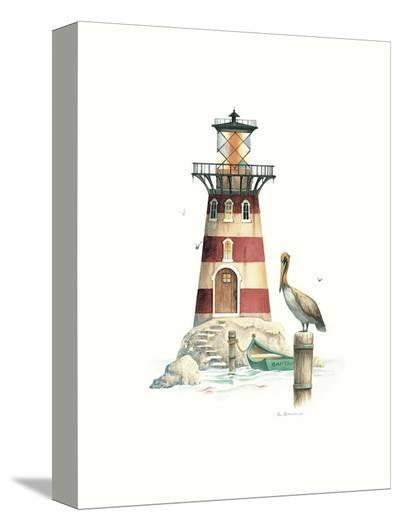 Pelican Point Light-Lisa Danielle-Stretched Canvas Print