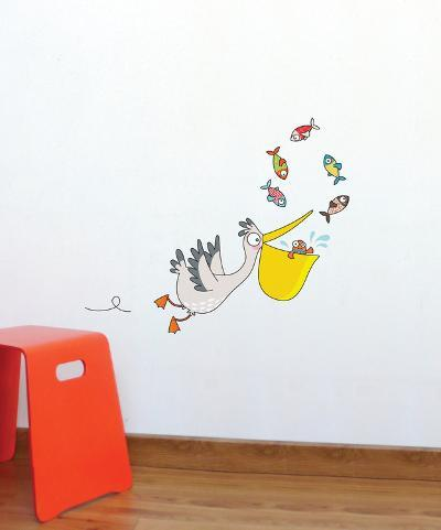 Pelican Wall Decal--Wall Decal