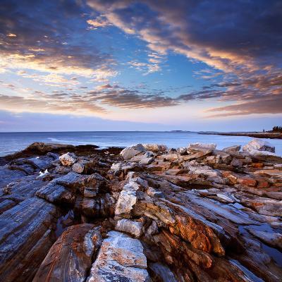 Pemaquid Point Coast, Bristol Maine-Paul Lemke-Photographic Print