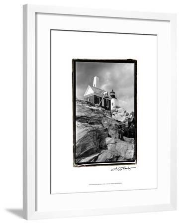 Pemaquid Point Light, Maine II-Laura Denardo-Framed Art Print