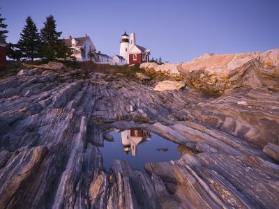 Pemaquid Point Lighthouse, Maine, USA-Alan Copson-Photographic Print