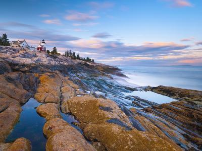 Pemaquid Point Lighthouse, Pemaquid Peninsula, Maine, New England, USA, North America-Alan Copson-Photographic Print