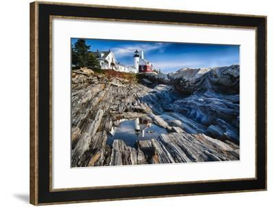 Pemaquid Pont Lighthouse, Maine-George Oze-Framed Photographic Print