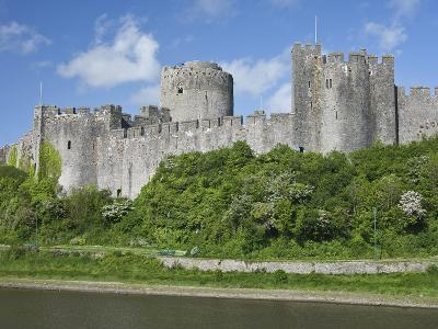 Pembroke Castle in Pembroke, Pembrokeshire, Wales, United Kingdom, Europe-David Clapp-Photographic Print