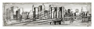 Pen and Ink Cityscape II-Ethan Harper-Premium Giclee Print