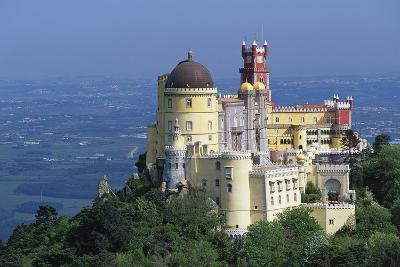 Pena National Palace, 19th Century, Mixture of Eclectic Styles, Sintra, Portugal--Photographic Print