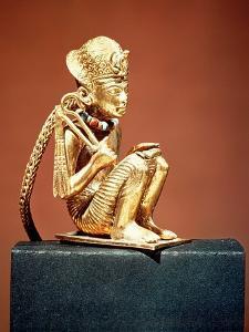 Pendant Representing Amenophis III (1403-1365 BC) from the Tomb of Tutankhamun, New Kingdom