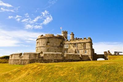 Pendents Castle, Falmouth, Cornwall, England, United Kingdom, Europe-Kav Dadfar-Photographic Print