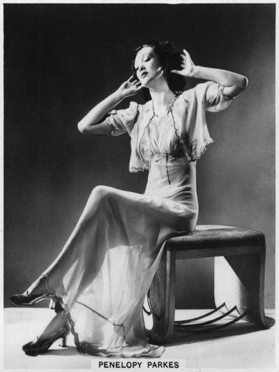 Penelopy Parkes, Actress, 1939--Giclee Print