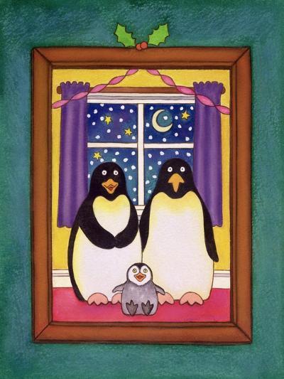 Penguin Family Christmas, 1997-Cathy Baxter-Giclee Print