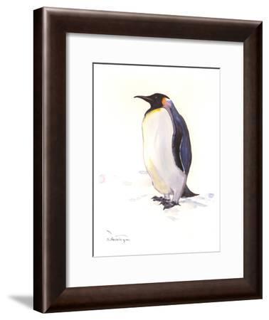 Penguin-Suren Nersisyan-Framed Art Print