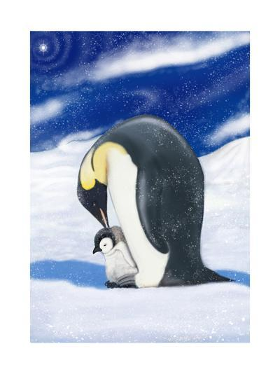 Penguins-DBK-Art Licensing-Giclee Print