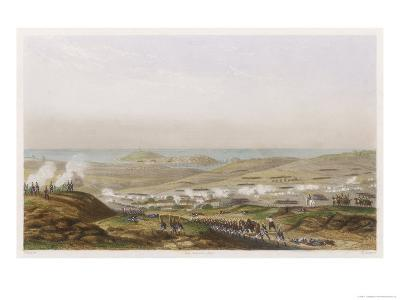 Peninsula Campaign Battle of Corunna Soult Tries to Prevent the English from Embarking-T. Yung-Giclee Print