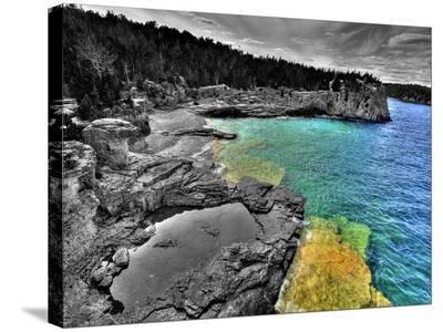 Peninsula National Park Georgian Bay I Hl-Mike Kovacs-Stretched Canvas Print