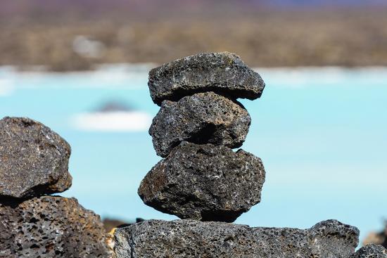 Peninsula Reykjanes, Blue Lagoon, Cairn-Catharina Lux-Photographic Print