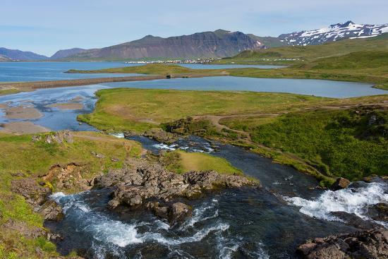Peninsula Snaefellsnes, Kirkjufjellsfoss-Catharina Lux-Photographic Print