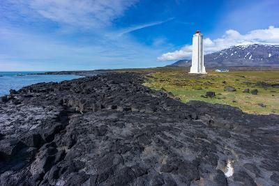Peninsula Snaefellsnes, Lighthouse Malariff-Catharina Lux-Photographic Print