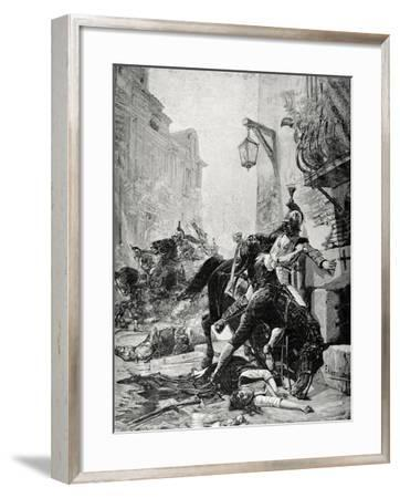 Peninsula War, May 2, 1808, Madrid, Manuela and Juan Malasana--Framed Giclee Print