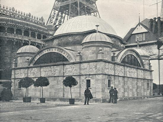 'Peninsular and Oriental Pavilion (River Front)', c1900-Unknown-Photographic Print