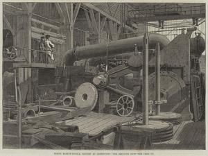 Penn's Marine-Engine Factory at Greenwich, the Erecting Shop