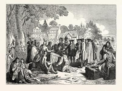 Penn's Treaty with the Indians--Giclee Print