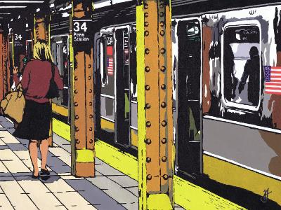 Penn Station-Jo Fairbrother-Art Print