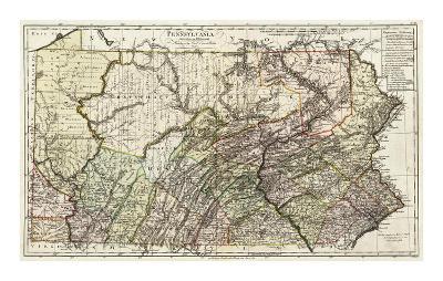 Pennsylvania, c.1797-Daniel Friedrich Sotzmann-Art Print