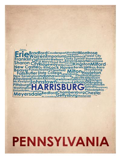 Pennsylvania--Art Print