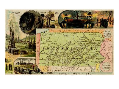 Pennsylvania-Arbuckle Brothers-Art Print